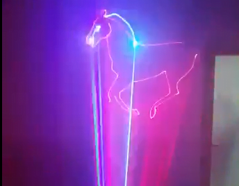 Đèn laser 1000RGB